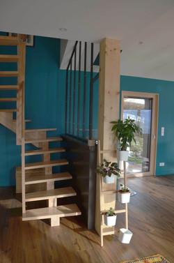 L'escalier et la verrière