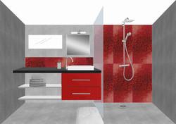 Planche d'ambiance - salle de bains