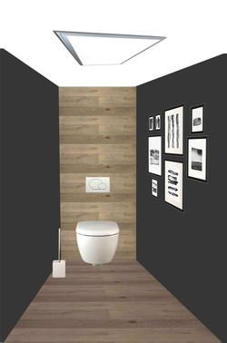 Planche d'ambiance des toilettes 1