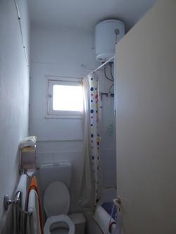 La salle de bains avant travaux