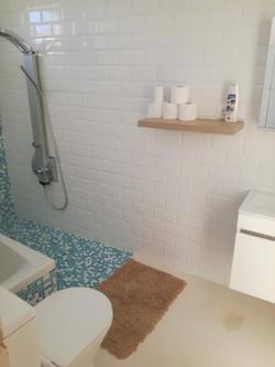 La salle de bains - travaux en cours
