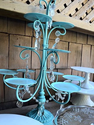 Tiffany Blue Cupcake Stand