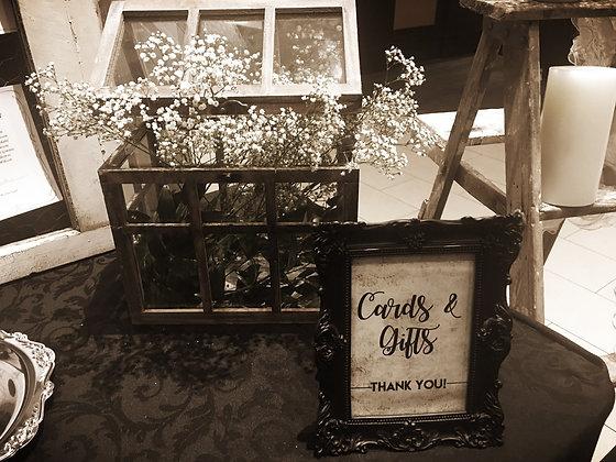 Glass House Card Box