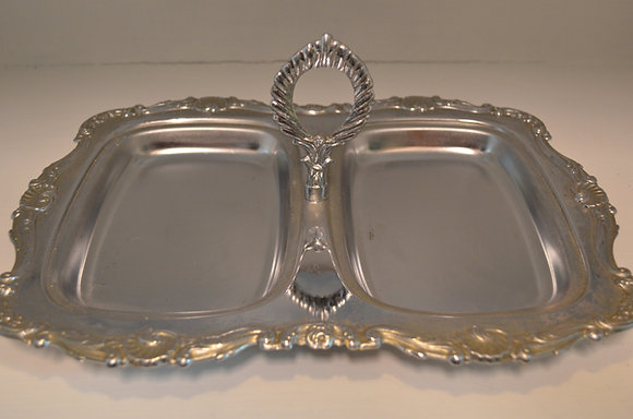 Sectional Silver Dish