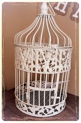 Bird Cage - White