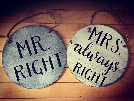 Newlywed Signs
