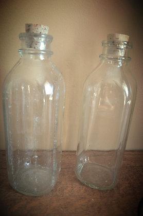 Antique Milk Bottle with Cork