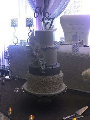Pewter Cake Plate