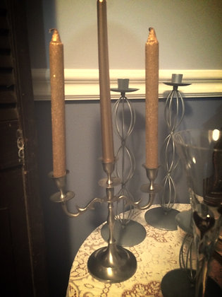 Triple Arm Candelabra