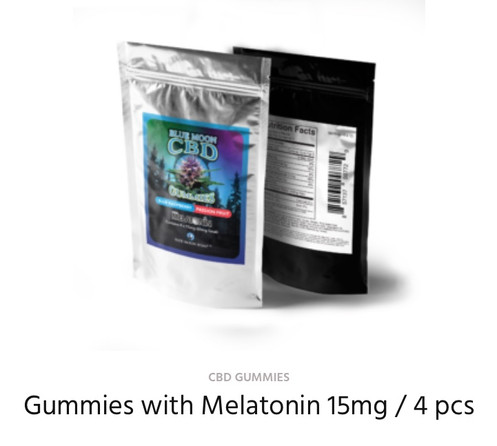 CBD Gummies with Melatonin