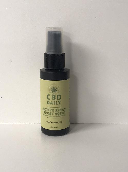 CBD Daily Active Spray with Essential Oils