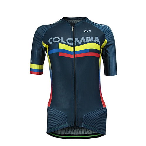 Jersey Pro X (Gama Alta) Acen Colombia Azul Mujer
