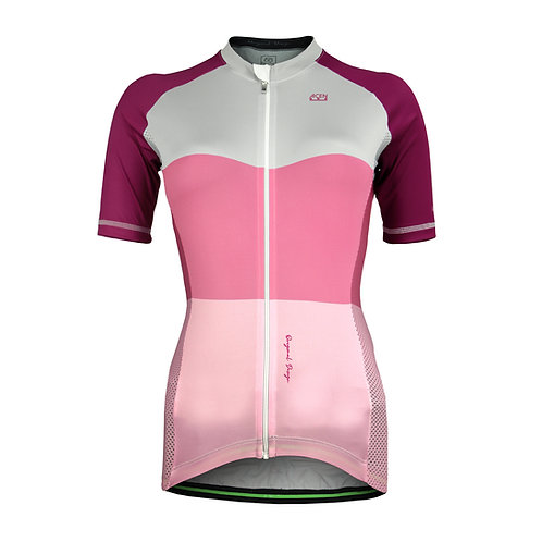 Jersey Scale TECH Rosa Mujer