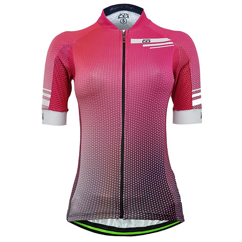 80.Jersey Performance 2.0 Dots Fucsia MUJER