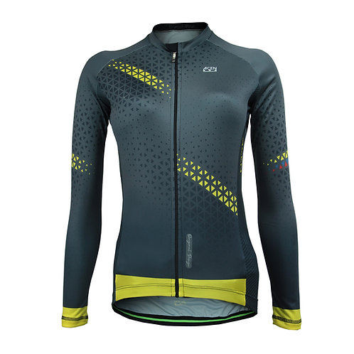 Jersey TECH Col Gris Mujer