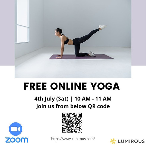 LUMIROUS-FREE Online Yoga Class