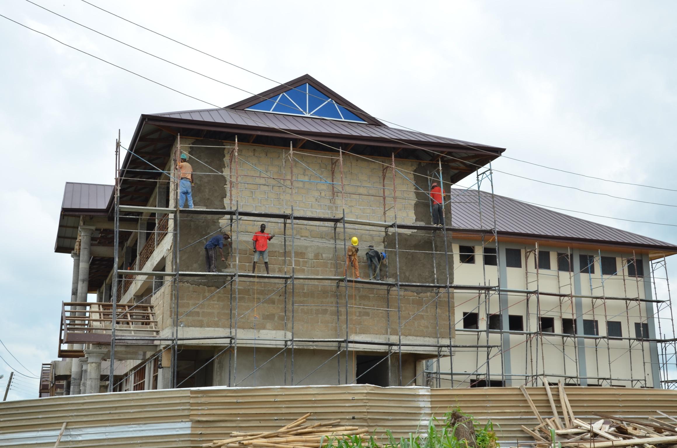 Plastering Buildings