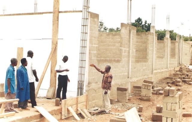 Classroom Building Walls