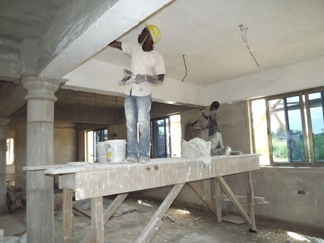 Plaster finishes
