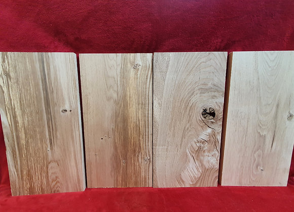 Scottish Oak Offcuts x4
