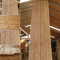 #Grooveddecking #Larch