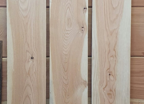 x3 Larch long planks