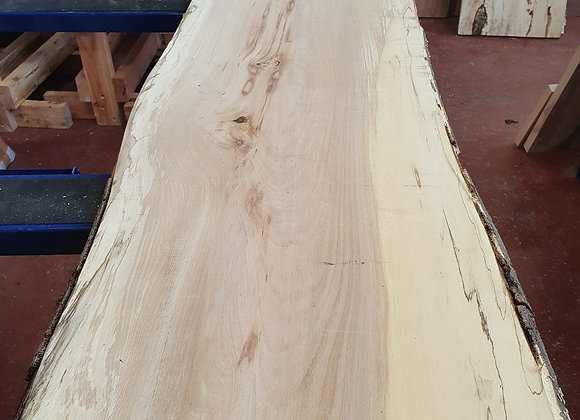 Natural edge Spalted Beech