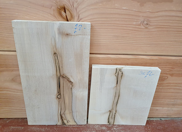 x2 Characterful Sycamore offcuts