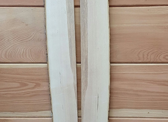 Bookmatched Ash pair