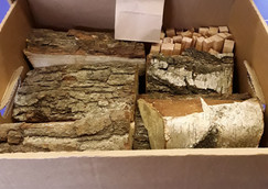 Logs in a box available onsite and online