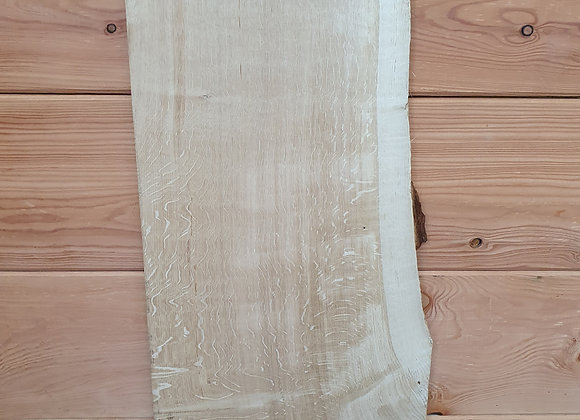 Quarter sawn Scottish Oak