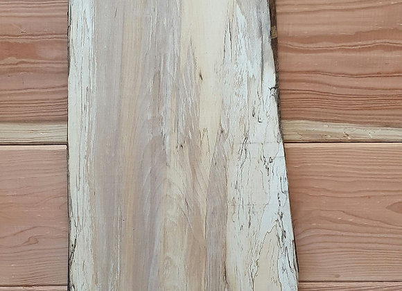 Natural edge Spalted Beech - Beautiful grain pattern