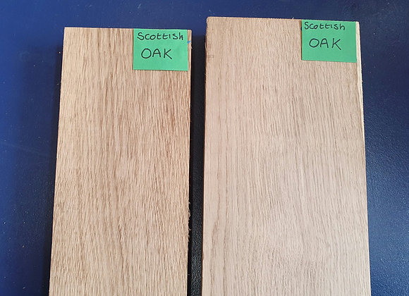 Scottish Oak Offcuts x2