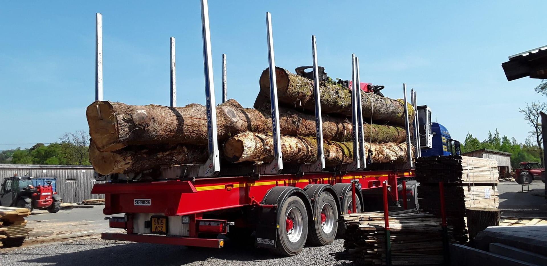 Logs from sustainable sources