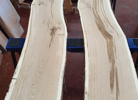 Live edge Scottish Oak pair