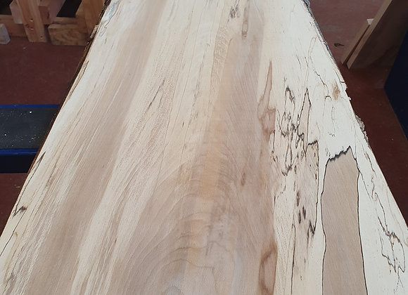 Spalted Beech with natural edge
