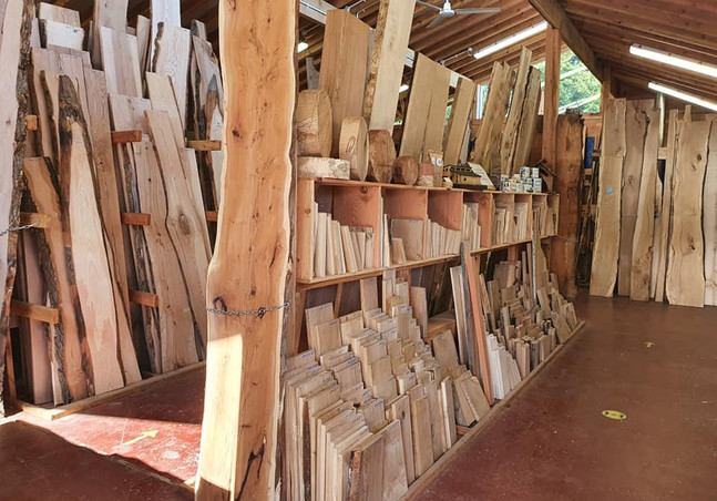 Boards, burrs and offcuts available