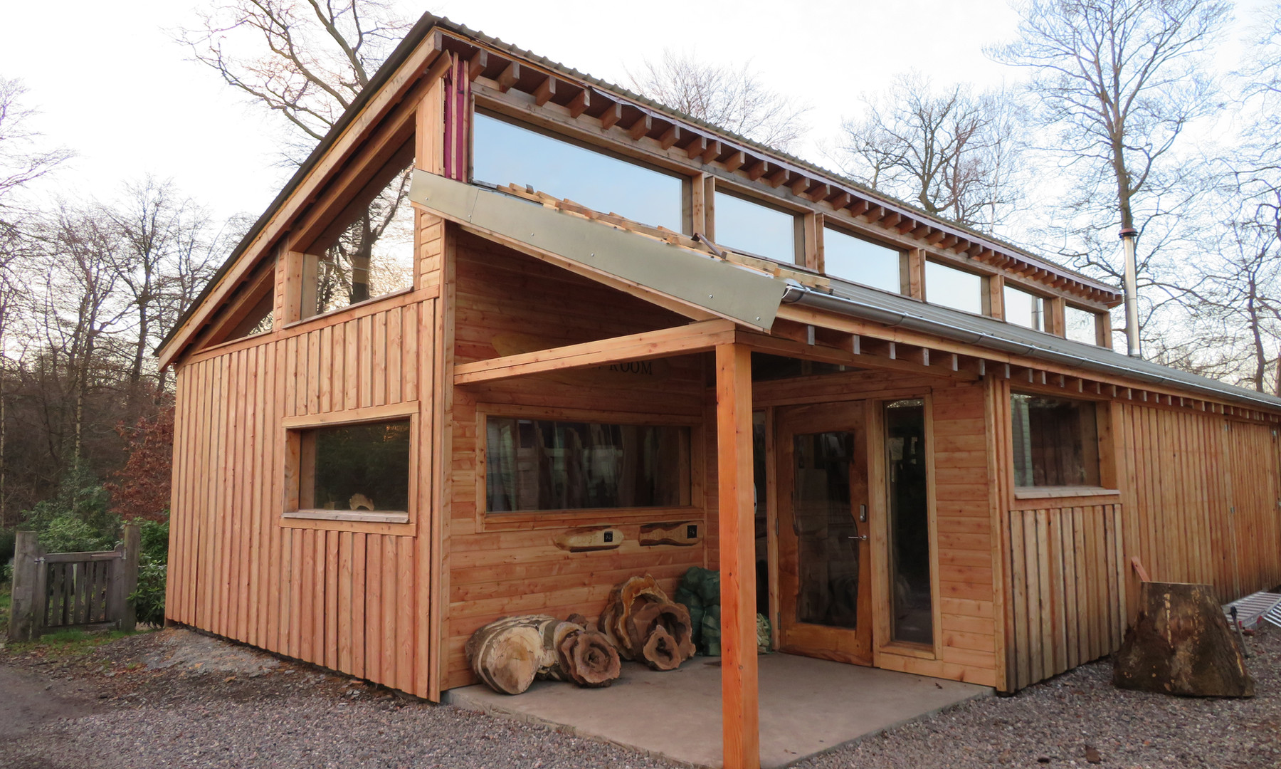 Our New Timber-shop