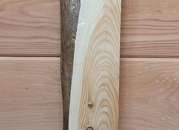 Live edge Larch offcut