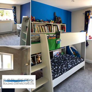 Childrens bedroom extension in Sevenoaks