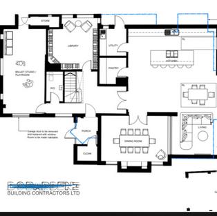 Extension in Sevenoaks building plans.PN