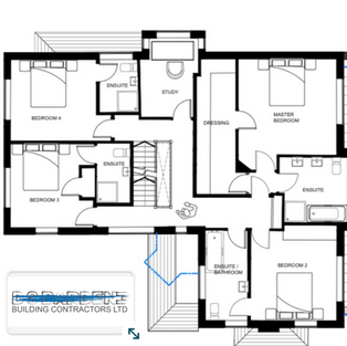Extension in Sevenoaks building plans 1s