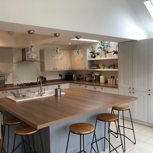 New Kitchen and property extension to a