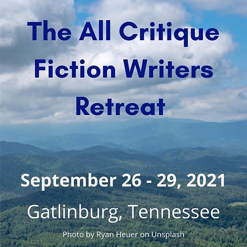 50% Deposit for Gatlinburg Writers Retreat