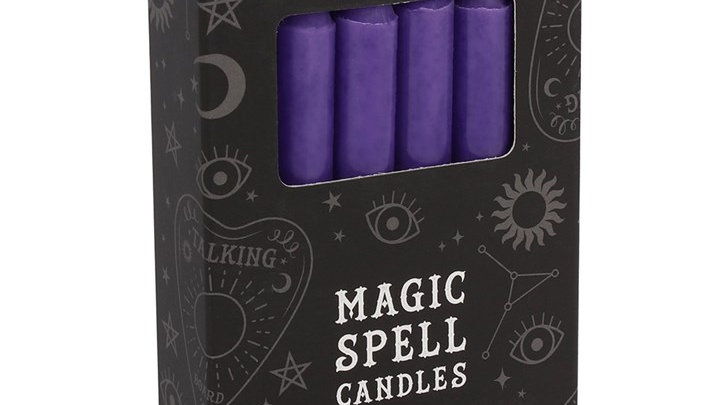 Magic Spell Candles - Purple