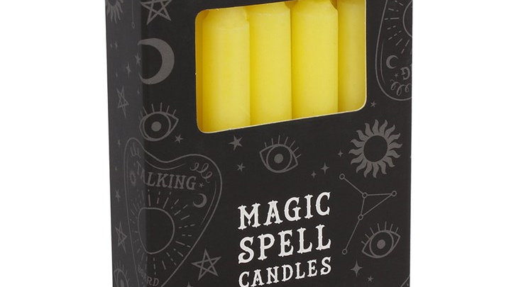 Magic Spell Candles - Yellow