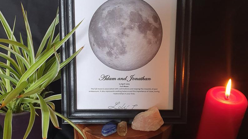 Personalised Moon Phase