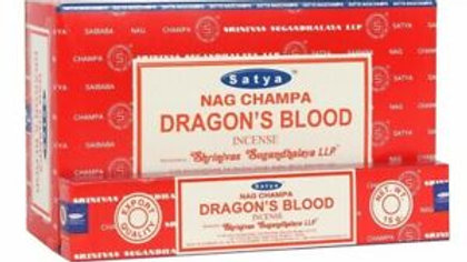 Satya - Nag Champa Dragon's Blood Incense Sticks