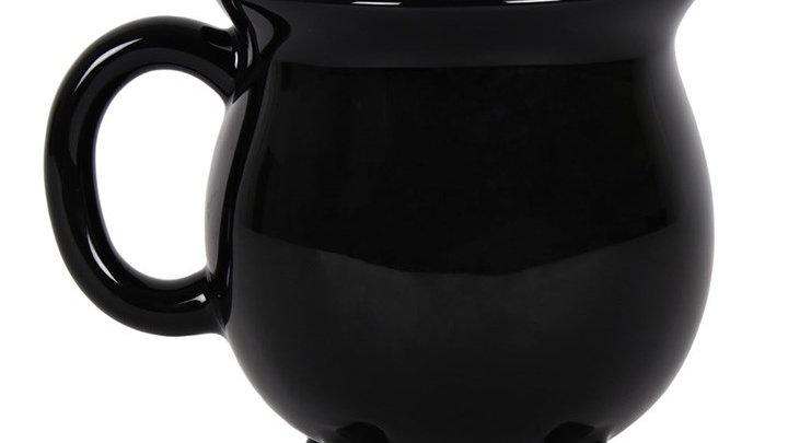 Blank Black Cauldron Mug