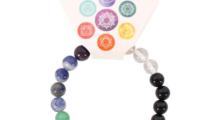 Chakra Balancing Ball Bracelet